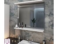 Victoria Plum Bathroom Mirror.