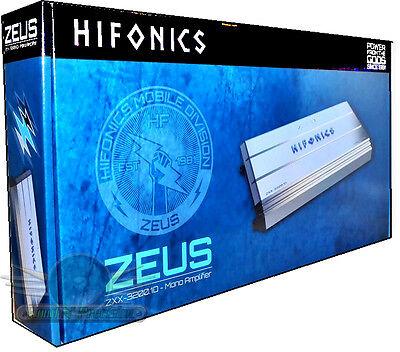 Hifonics ZXX-3200.1D 3200W RMS Super Class D Monoblock Car Amplifier New Car Amp