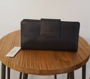 RFID Protected Fossil Leather Wallet - Tags Attached!