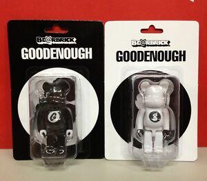 Medicom-Be-rbrick-Goodenough-100-Good-Enough-Black-amp-White-Bearbrick-Set-2pcs