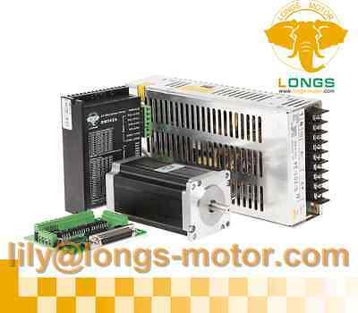 Cnc Longs 1axis Nema23 Stepper Motor Dual Shaft 425oz-indriver Dm542a 50v Cnc
