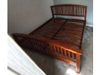 Mahogany Superking Bed Frame