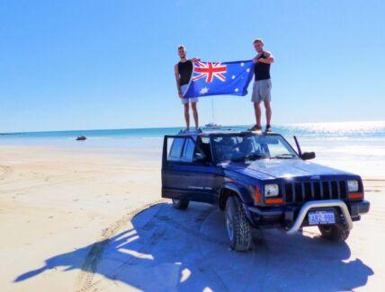 2000 Jeep Cherokee Wagon 227000Km (Backpacker) Perth CBD Perth City Preview
