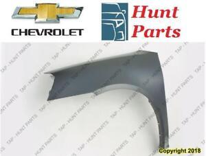Chevrolet Fender Bumper Cover Front Rear Grille Hood Inner Liner Fausse Couverture Pare-Chocs Arrière Avant Aile Capot