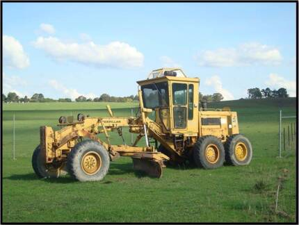 CAT 130 Grader Heavy Machinery Earthmoving blade ripper Construct Moss Vale Bowral Area Preview