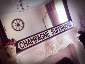 Oasis Inspired Champagne Supernova Street Sign Whats The Story Noel Gallagher