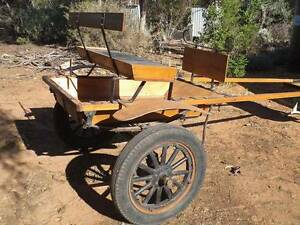 PONY CART Includes wooden spoke wheels. Berri Berri Area Preview