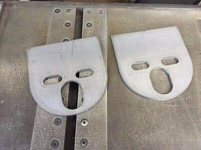 - Upper Air Bag Plates Top square flat Brackets tube air ride bagged airride