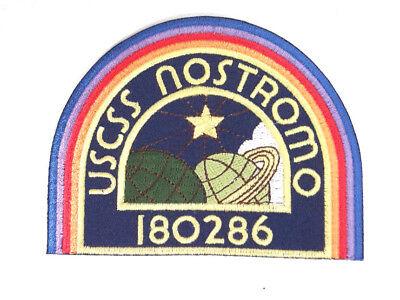 """ALIEN Movie- USSC Nostromo Crew DELUXE Embroidered 4"""" Patch-Dark Blue (ALPA-60)"""