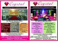 Banqueting Hall, Burnley,Lancashire, Wedding Packages from £12/head, Mehndi Packages from £10/head