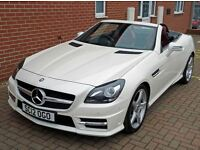 2012 Mercedes Benz SLK 250 CDi AMG Sport BlueEfficiency 2dr Diesel Roadster 7G Auto HPI CLEAR
