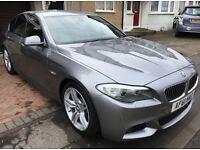 2011 BMW 530D M SPORT 110000 EXCELLENT CONDITION HPI CLEAR FSH