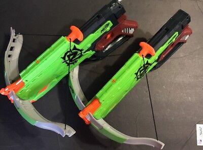 NERF Zombie Strike Cross Bow guns  boys toys kids games - Nerf Guns Games