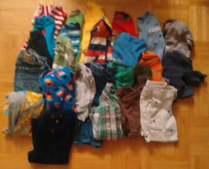 Infant boys mixed clothes lot