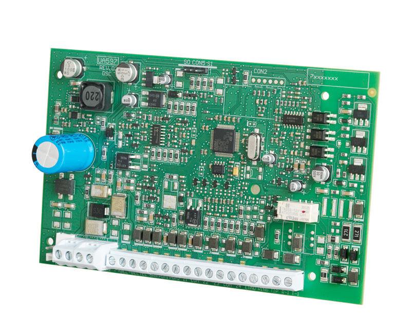 DSC POWER SERIES PC1404 4-ZONE BOARD SPA PC1404PCBSPA NO CABLES