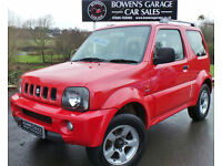 2005 (55) SUZUKI JIMNY 1.3 JLX 3DR - LOW MILES - SAME LOCAL OWNER SINCE 2007