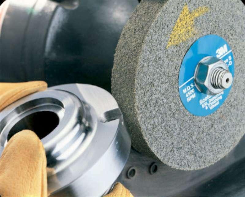 3M Abrasive Scotch-Brite EXL Deburring Wheels 048011057903