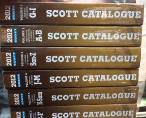 Volumes Scott série 2012 pour amateurs de timbres