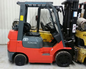 Certified Forklifts at Unbeatable Prices! Delivery Included!