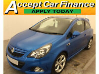 Vauxhall Corsa 1.6i Turbo VXR FINANCE OFFER FROM £57 PER WEEK!