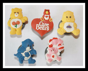 BRAND NEW SET OF 5 CARE BEARS MAGNETS