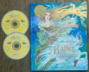 The Barefoot Book of Ballet Stories Hardcover w/2 CD