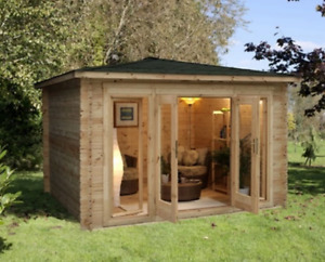 Wood Cabins and Bunkies -- OVERSTOCK -- Beautiful 3m x 3m design