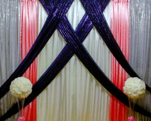 parties and weddings affordable backdrops and decor!