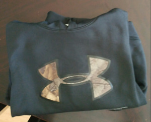 Sold ppu-Boys UA hoody youth small