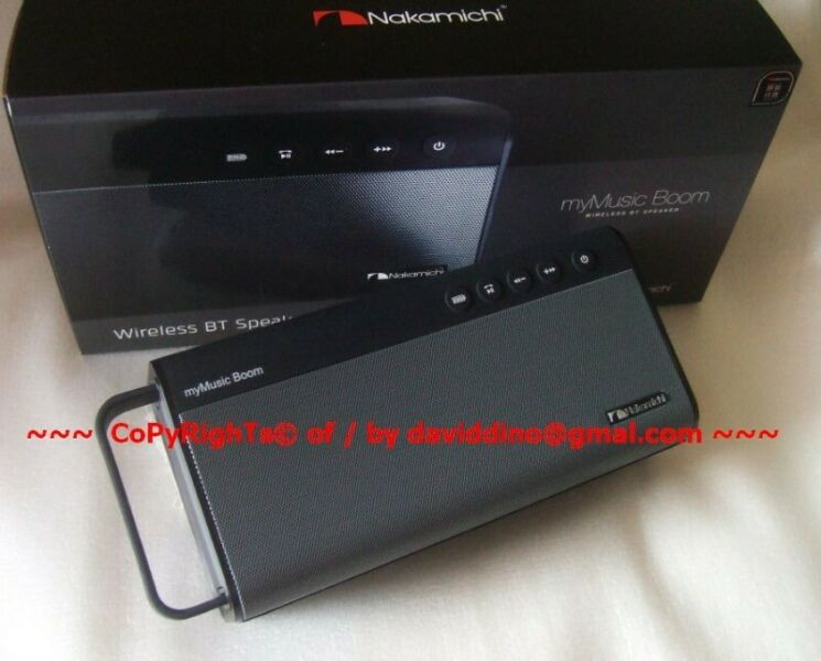 ~~~ NaKaMiChi MyMuSic BooM BLueTooTh PorTaBLe WiReLeSS SpeaKer $148 ~~~Or Trade with  JBL Flip 5 ~~~