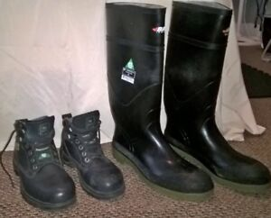 Men's and Women Safety Toe and Plate Boot