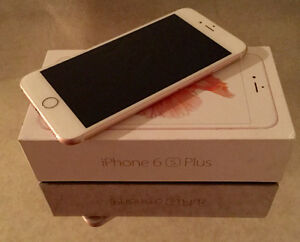 Rose Gold iPhone 6S Plus 64GB Rogers