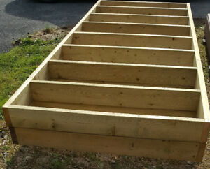 "DECK OR DOCK - 10'6""X4' PT FRAME WITH COMPOSITE DECKING"