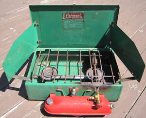POÊLE COLEMAN 2 ronds,  Coleman Camping Stove  NEGO.