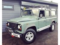 2008 Land Rover Defender 110 XS Spec County Station Wagon **Winch - 7 Seater**