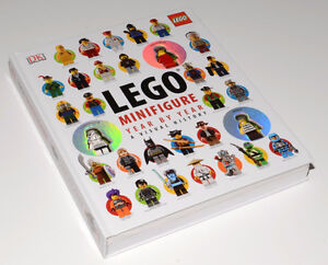 Like New Lego Minifigure Year by year history book $25