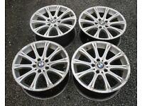 """BMW E46 E87 E90 18"""" Style 166 M5 M6 Replica Alloy Wheels 5x120 330d 320d 318i 330i 325i 328i 120d"""