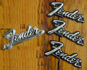 Fender amp/ case badges