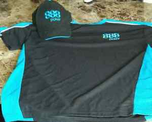 888 Poker shirt and Hat Combo