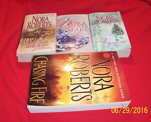 50 POCKET BOOKS: 40 Books by NORA ROBERTS, Bestselling Author