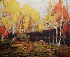 """Limited Edition """"Fall Woods"""" by Tom Thomson"""