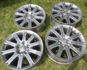 "NICE SET OF 20"" X 8"" RIMS"