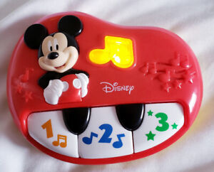 Disney Mickey Mouse My First Piano - $7