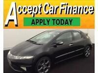Honda Civic 2.2i-CTDi 2010MY Si FROM £20 PER WEEK!