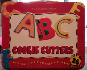 A to Z - Alphabet Cookie Cutters