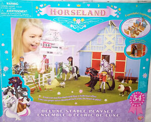 Horseland Horse Folding Pop / UP Barn & Fence Only in Box London Ontario image 1