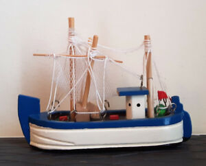 Wooden Miniature Model Sailing Ship