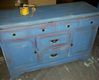 Rustic Vintage Maple Dresser   -in Listowel