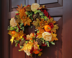 19 inches wreath