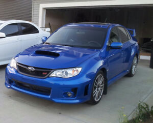 2012 Subaru Impreza WRX STi with Sport-Tech Package